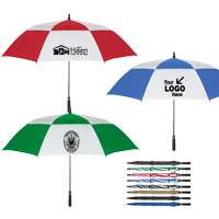 "58"" Arc Vented, Windproof Umbrella"